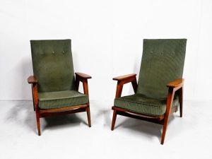 Fauteuils vintage. Vintage. Design. Antiquités. Galerie87.com