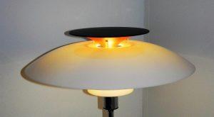 Lampadaire PH80, Louis Poulsen. Lampe. design du xxème. Vintage. Antiquités. www.galerie87.com