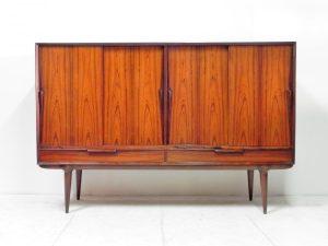 Buffet enfilade scandinave gunni Omann. Design Vintage. Antiquités. galerie87