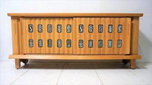 Enfilade Guillerme et Chambron. Vintage. Design. Antiquités. Galerie87