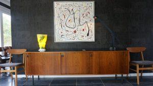 Enfilade en palissandre. Antiquités du XXème. Vintage. Design du XXème. www.galerie87.com
