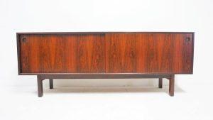 Omann Junior. Enfilade scandinave en palissandre. Vintage. Design; Antiquités. Galerie87