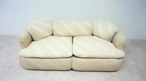 Canapé confidential. Rosselli. Saporiti. Design du XXème. Vintage. Galerie87.com