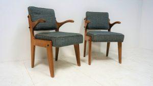 fauteuils Guillerme et Chambron. design du XXème. Antiquités du XXème. vintage. www.galerie87.com