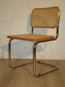 chaises Cesca B32 Marcel Breuer. Antiquités du XXème. Design du XXème. www.galerie87.com