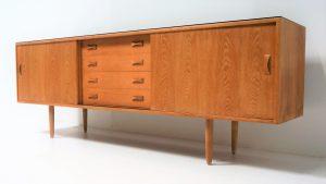 Enfilade scandinave. Design. Vintage. antiquités. www.galerie87.com