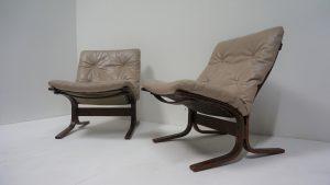 fauteuils Siesta Ingmar Relling. Antiquités du XXème. Design du XXème. vintage. www.galerie87.com