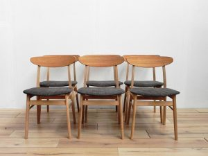 Chaises scandinaves. Design. Antiquités. Vintage. galerie87.com