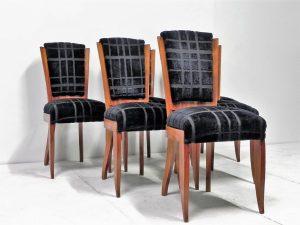 Chaises art-déco. Design. Vintage. Antiquités. Galerie87