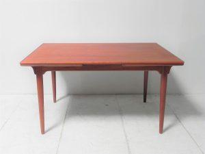 Table en teck Omann Jr. Scandinave. vintage. Design. Galerie87