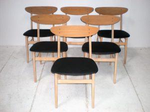 Chaises scandinaves. Antiquités. Vintage. Design. Galerie87