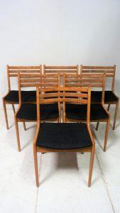 Chaises scandinave. Design. Vintage. Antiquités. Galerie87.com