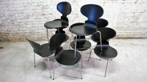 Ante Chairs, Arne Jacobsen. Fritz Hansen. Vintage. Scandinave. Design. Antiquités du XXème. Galerie87.com