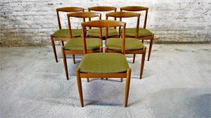 Chaises Arne Vodder Vamo Sondrborg. Scandinave. Design. Antiquités du XXème. Vintage. Galerie87.com