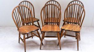 6 chaises scandinaves 1950. Vintage. antiquités du XXème. Midcentury. Galerie87.com