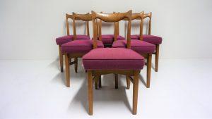 Chaises Guillerme et Chambron. Vintage. Design du XXème. Antiquités du XXème. galerie87.com