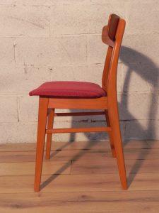 6 chaises scandinaves Farstrup. Antiquités du XXème. Design du XXème. www.galerie87.com