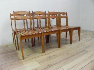 Guillerme et Chambron chaises. Antiquités du XXème. Design du XXème. www.galerie87.com