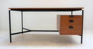Bureau CM172 Pierre Paulin. Thonet. Antiquités du XXème. Design. vintage. Midcentury. Galerie87.com