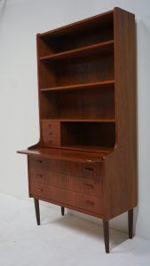 Secrétaire scandinave en teck. vintage. design du XXème. antiquités du XXème. www.galerie87.com