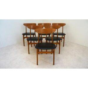 Chaises scandinave Farstrup 210. Design. Vintage. XXème. Galerie87.com Midcentury