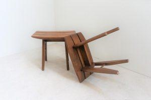 Paire de tabourets Guillerme et Chambron. Votre maison. Vintage. Design. Midcentury. XXème. Galerie87;COM