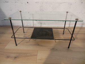 Table basse 1950. Antiquités du XXème. Design du XXème. www.galerie87.com