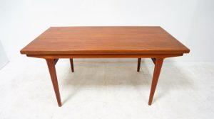 Table scandinave dlg J. Andersen. Teck. vintage. design du XXème. antiquités du XXème. Galerie87.com