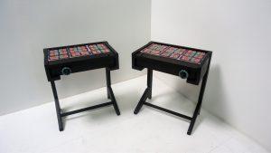 Guillerme et Chambron. Tables. design. vintage. antiquités du xxème. www.galerie87.com