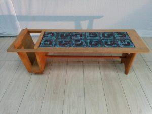 """Table basse """"Thibault"""", de Guillerme et Chambron. Antiquités du XXème. Design du XXème. Meuble vintage. www.galerie87.com"""