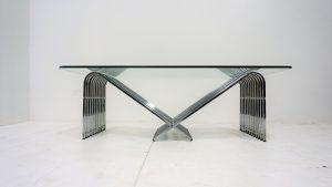 Table basse italienne. Design du XXème. Vibntage. Antiquités du XXème. www.galerie87.com