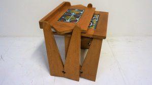 Tables gigogne Guillerme et Chambron. Vintage. Design du XXème. antiquités du XXème. www.galerie87.com