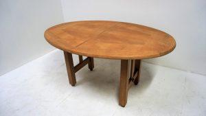 Table Guillerme et Chambron. vintage. design du XXème. antiquités du XXème. Galerie87