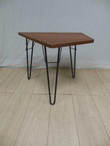 Table basse attribuée à Van der Meeren. Antiquités du XXème. Design du XXème. Meuble vintage. www.galerie87.com